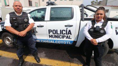 policía de Neza