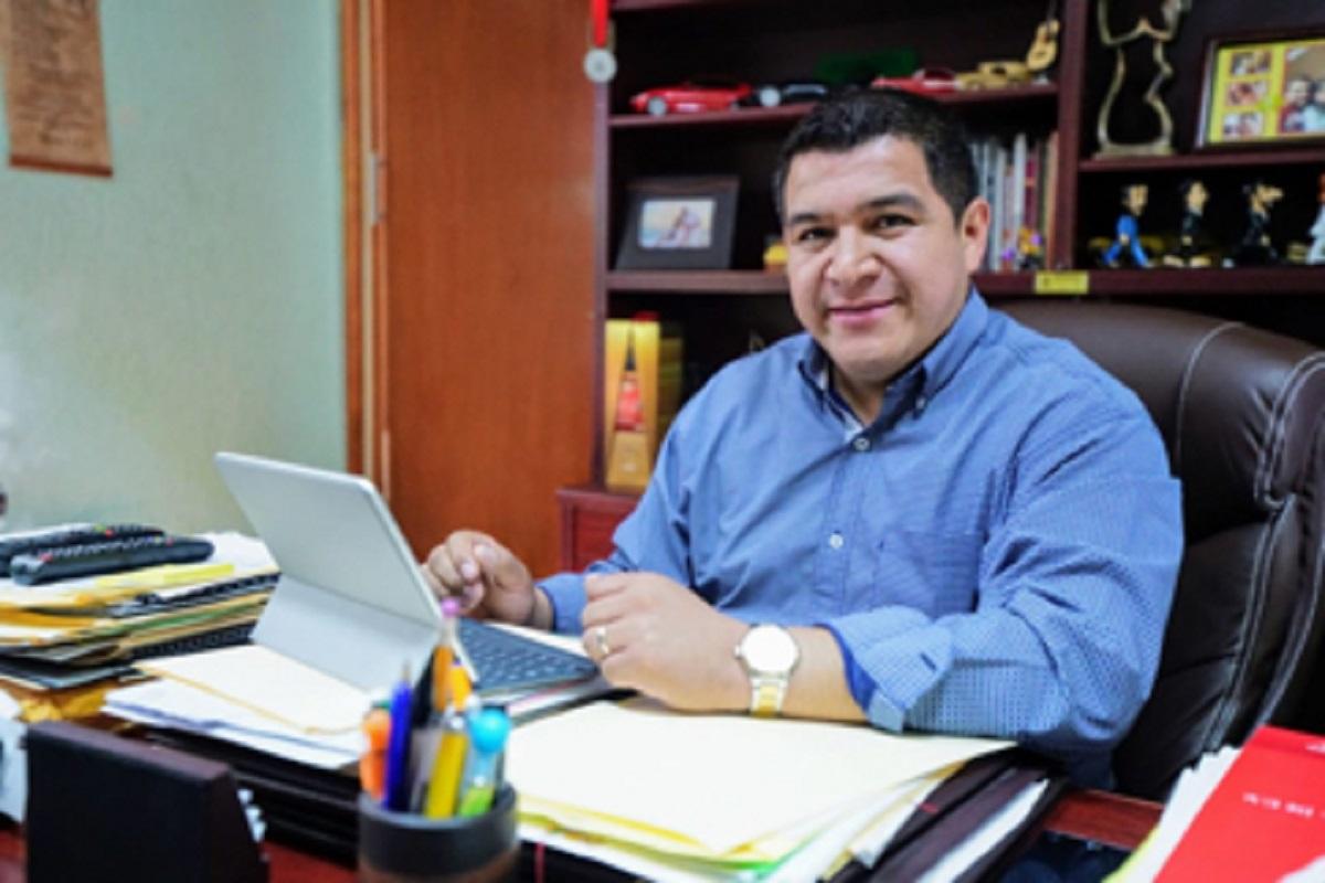 El líder del Suteym Naucalpan