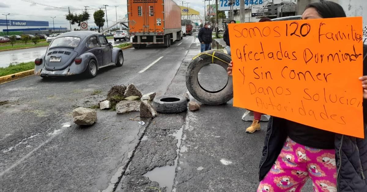 Inundaciones en Toluca