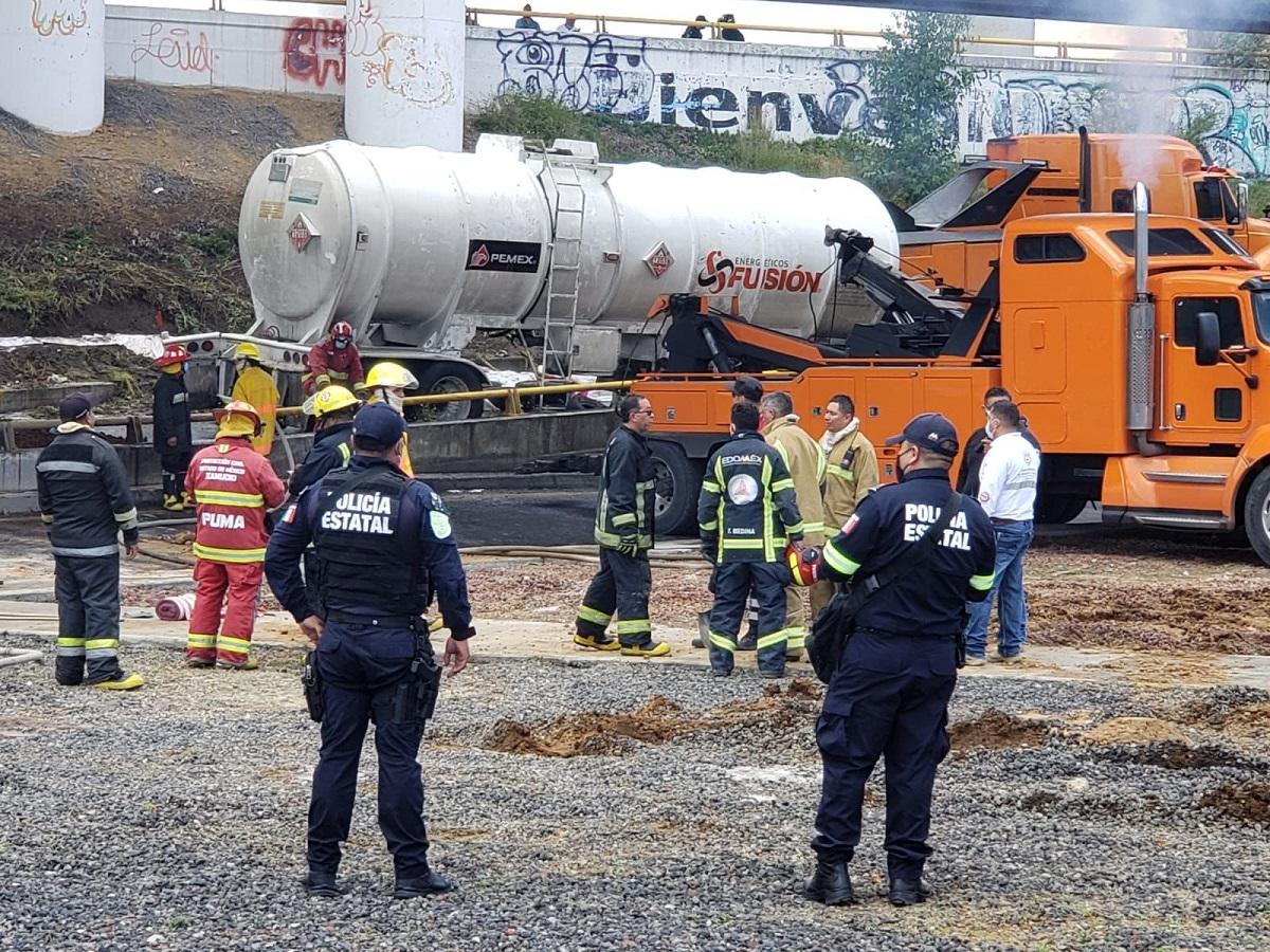 El conductor al parecer no resultó lesionado