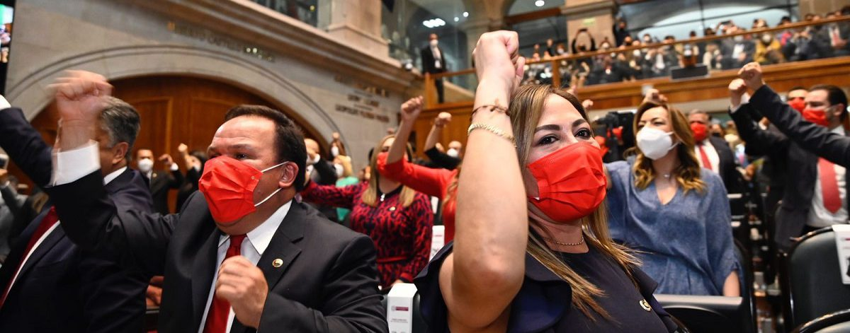 Es una Legislatura histórica ya que hay más mujeres que hombres