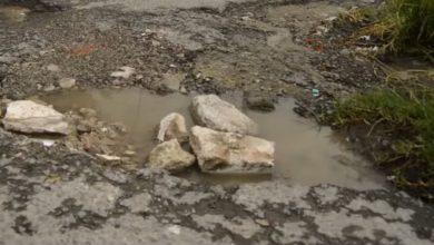 Esperan que con la reeleción del alcalde mejore la situación de las calles de este municipio