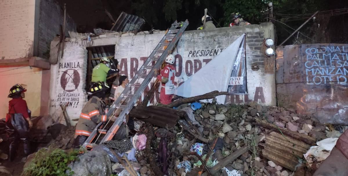 derrumbe en Ecatepec