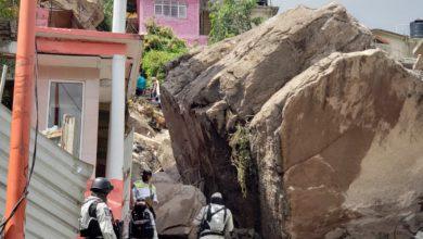 Personal de los 3 niveles de gobierno se encuentra trabajando para rescatar a las posibles víctimas