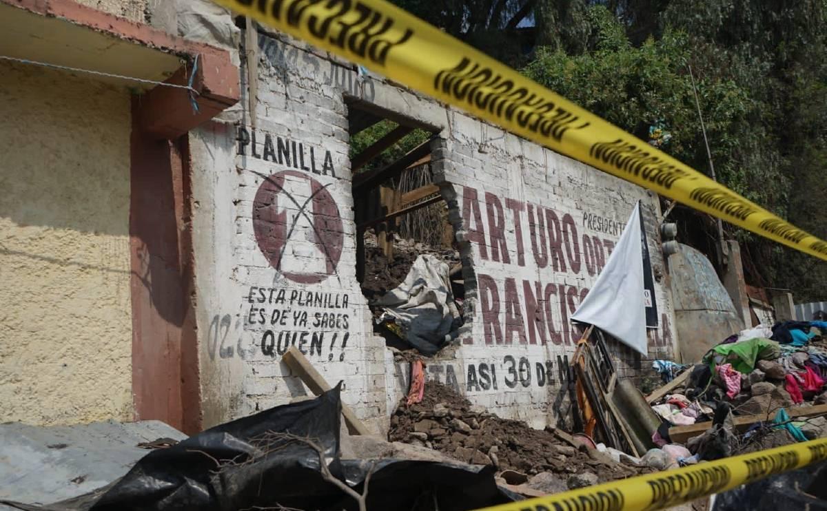 deslave en Ecatepec