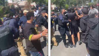 Cinco personas fueron detenidas