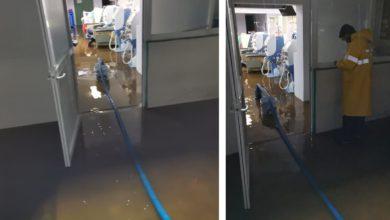Inundaciones de hospitales de Ecatepec