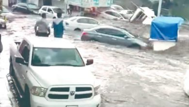Lluvias colapsaron los muniipios Coacalco y Ecatepec