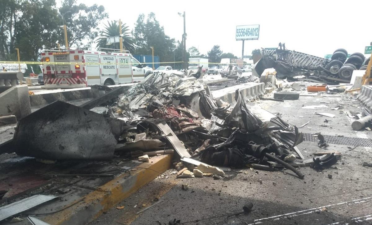 El accidente se registró en Chalco