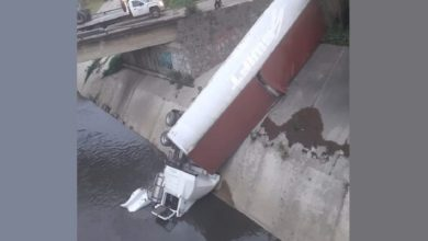 El accidente provocó afectaciones en el tránsito