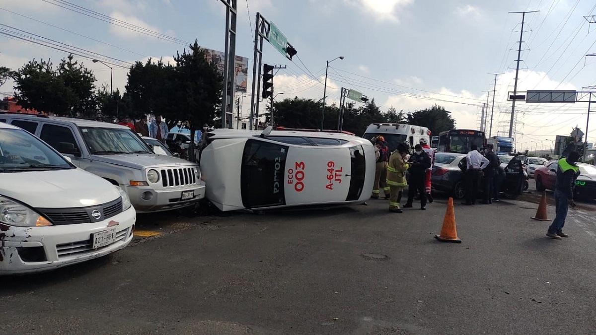 El incidente se registró en Toluca