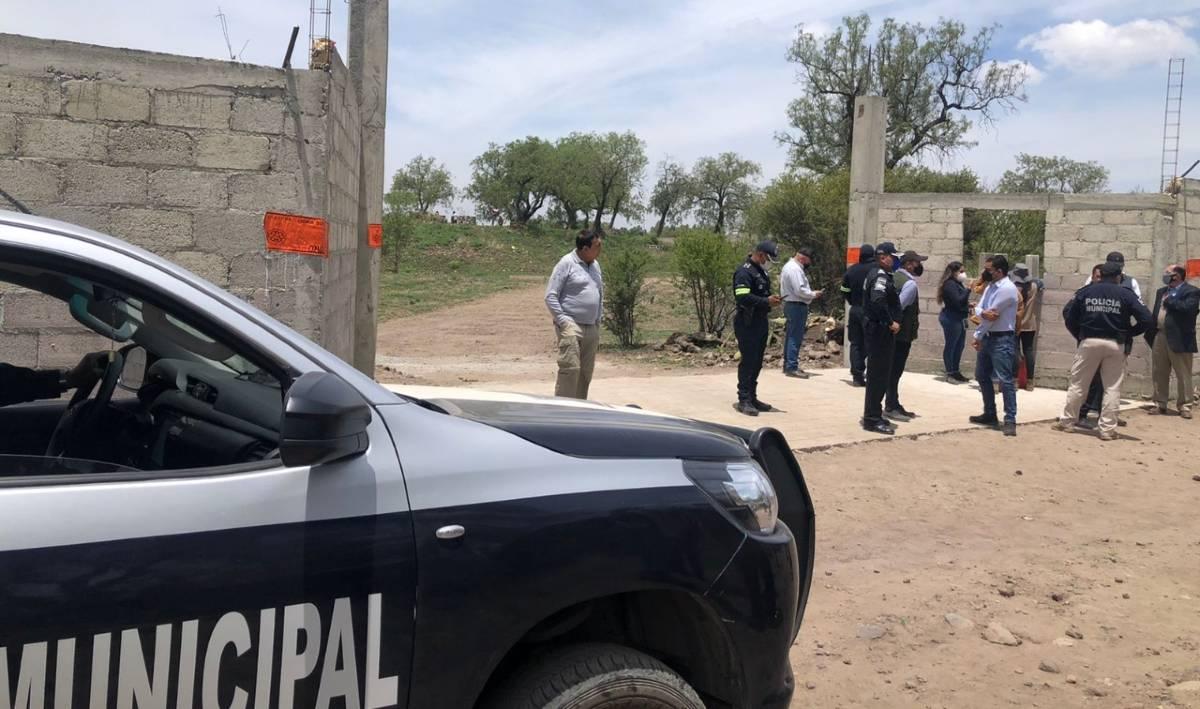 obras prohibidas en Teotihuacan