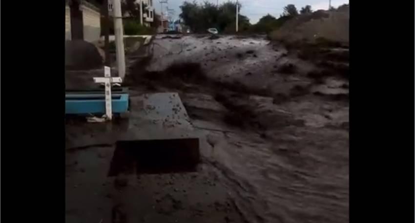 Desbordamiento de río Sanabria