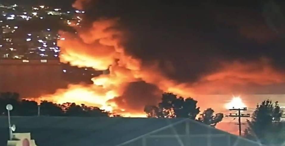 incendio en Ecatepec